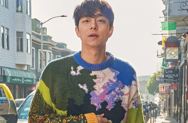 《Harper's Bazaar Korea》官方臉書釋出孔劉身穿LV《綠野仙蹤...