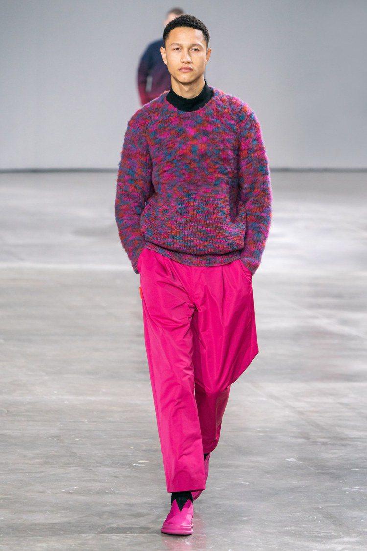 風一般的男子,是三宅一生2019秋冬男裝主題。圖/ISSEY MIYAKE提供