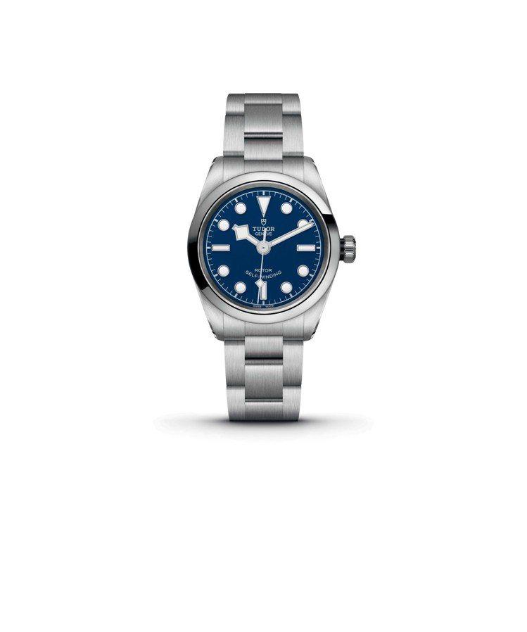 LADY GAGA配戴廣告款BLACK BAY 32毫米藍色表面搭配鋼表帶,79...