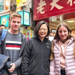 蔡英文逛街拚支持 孫大千:沒政績的政治網紅一樣落選