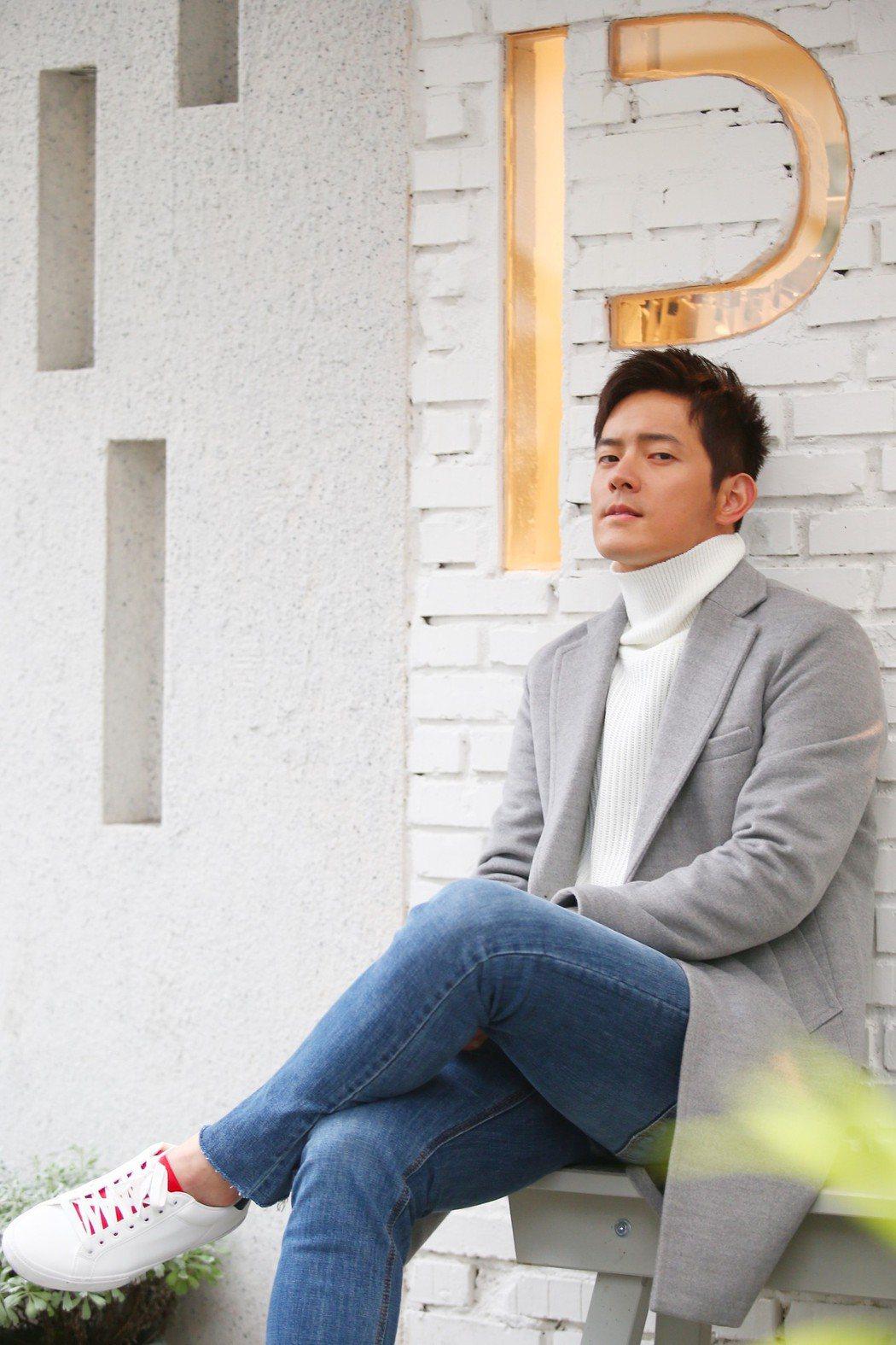 藝人宥勝專訪。記者王騰毅/攝影