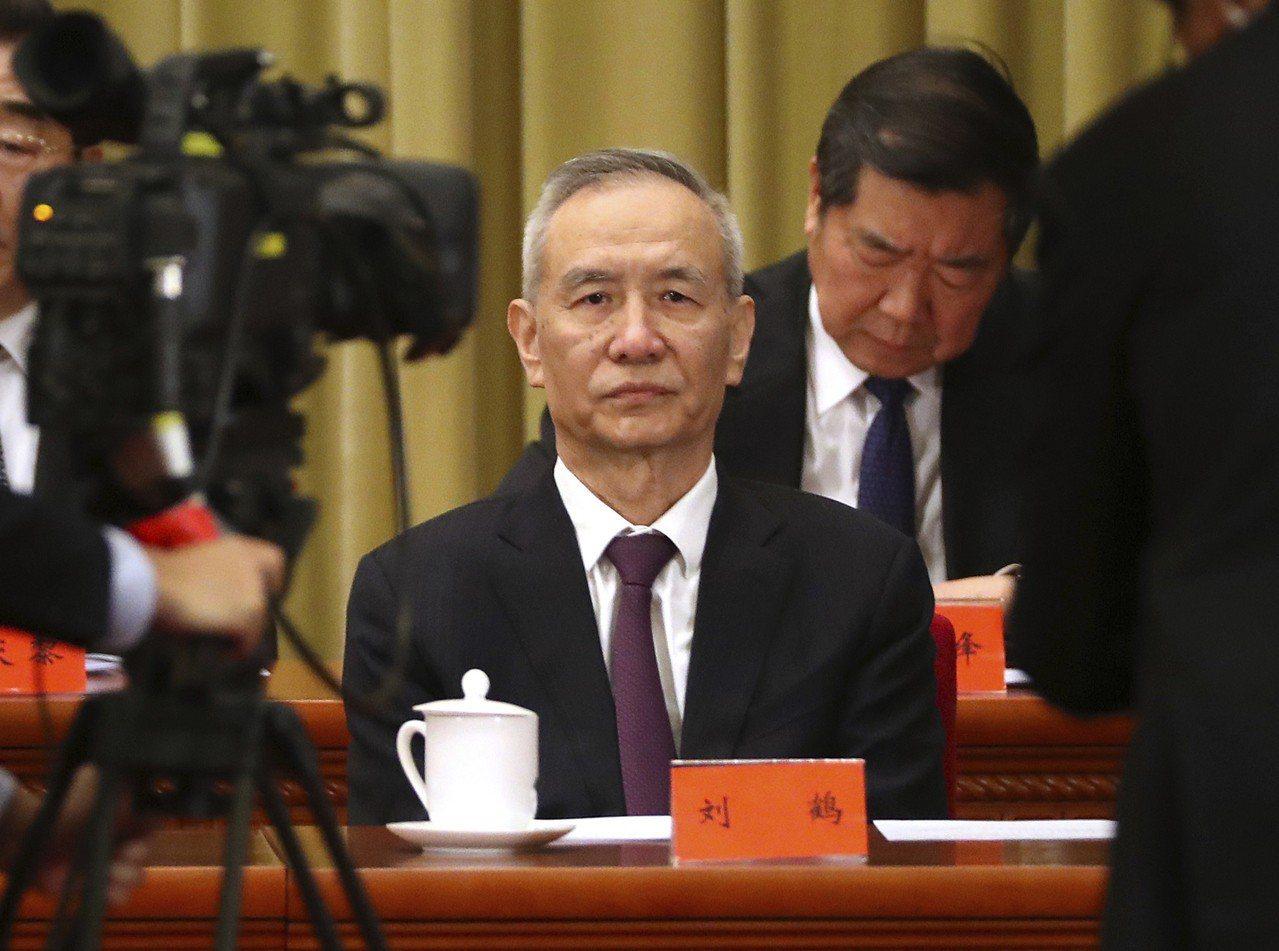中國貿易談判主帥劉鶴月底銜命赴美談判。(美聯社)