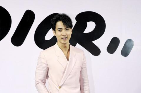 Dior今天在台北新光三越信義新天地舉行男裝 Pop_up Store開幕派對,吳尊、謝沛恩等人受邀出席。