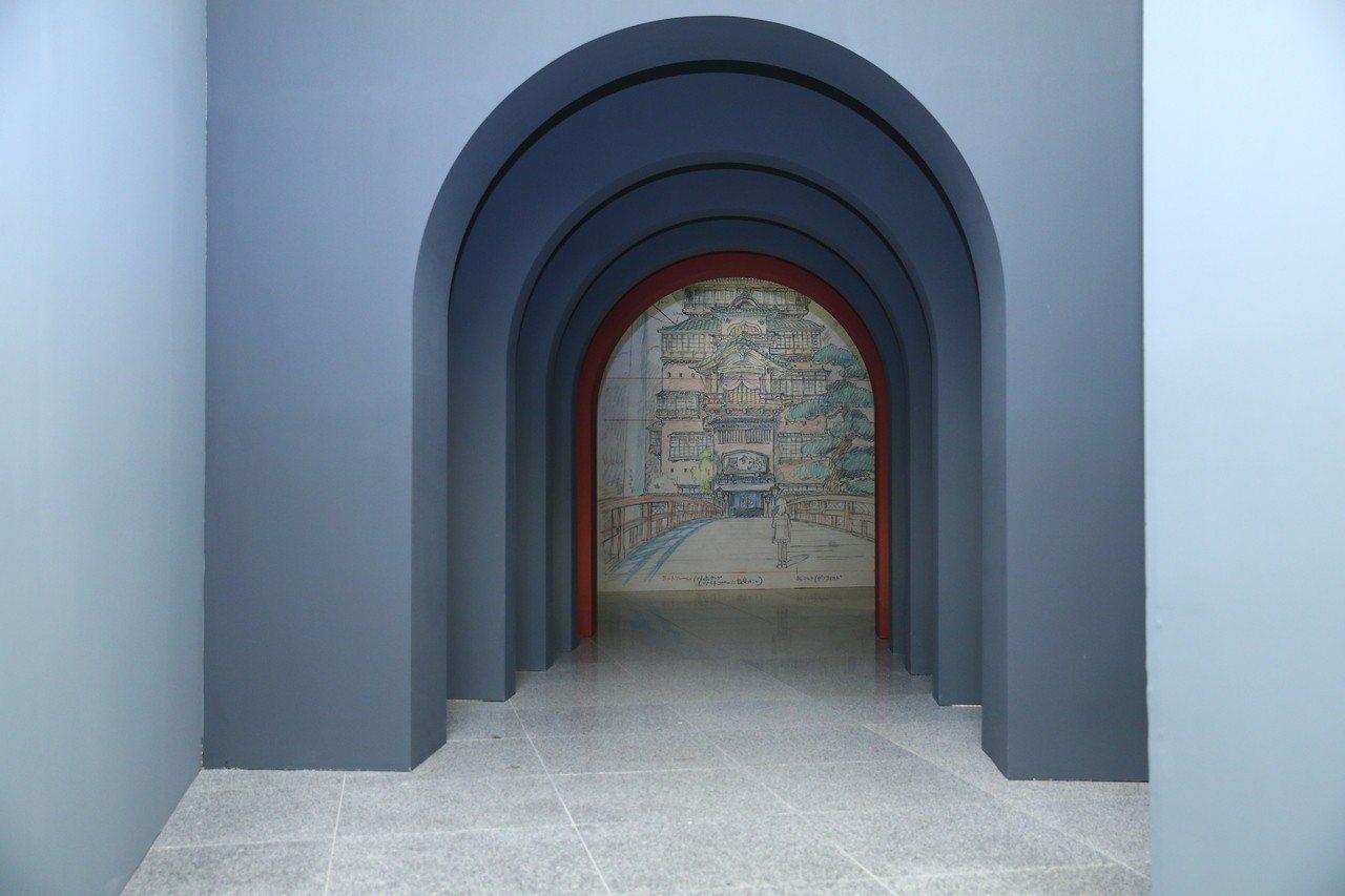 「吉卜力動畫手稿展」展出1400幅首次在台曝光的吉卜力手稿,也包括神秘的「油屋」...