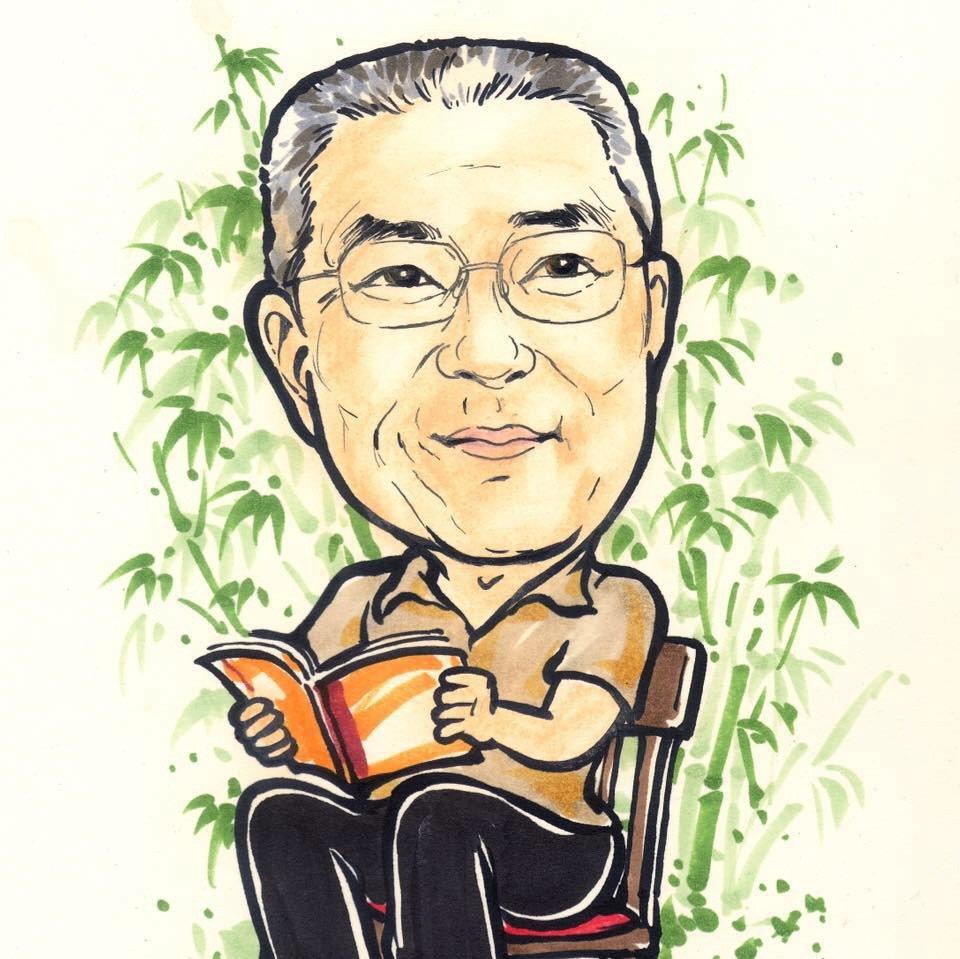國民黨主席吳敦義,臉書近日悄悄換上Q版照片。 圖/取自吳敦義臉書