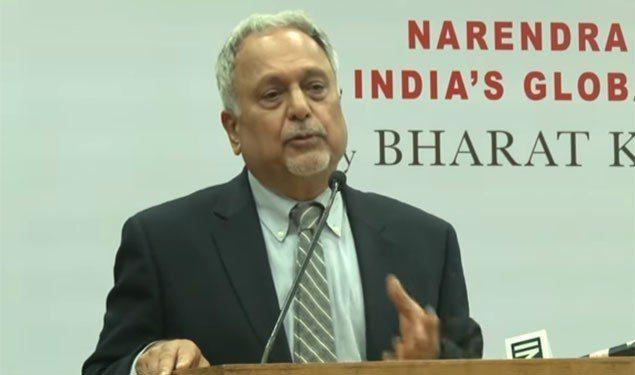 戰略專家卡納德(Bharat Karnad)。 圖/擷自網路