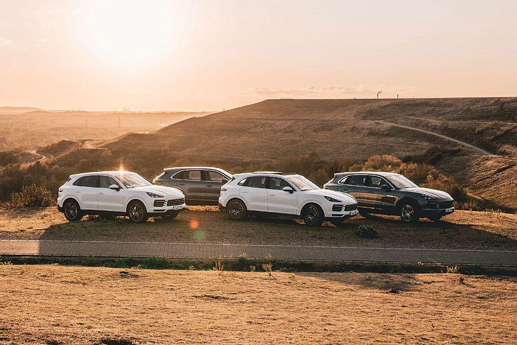 保時捷Macan加上Cayenne的銷售總額為157,489輛,並超過品牌年度銷...