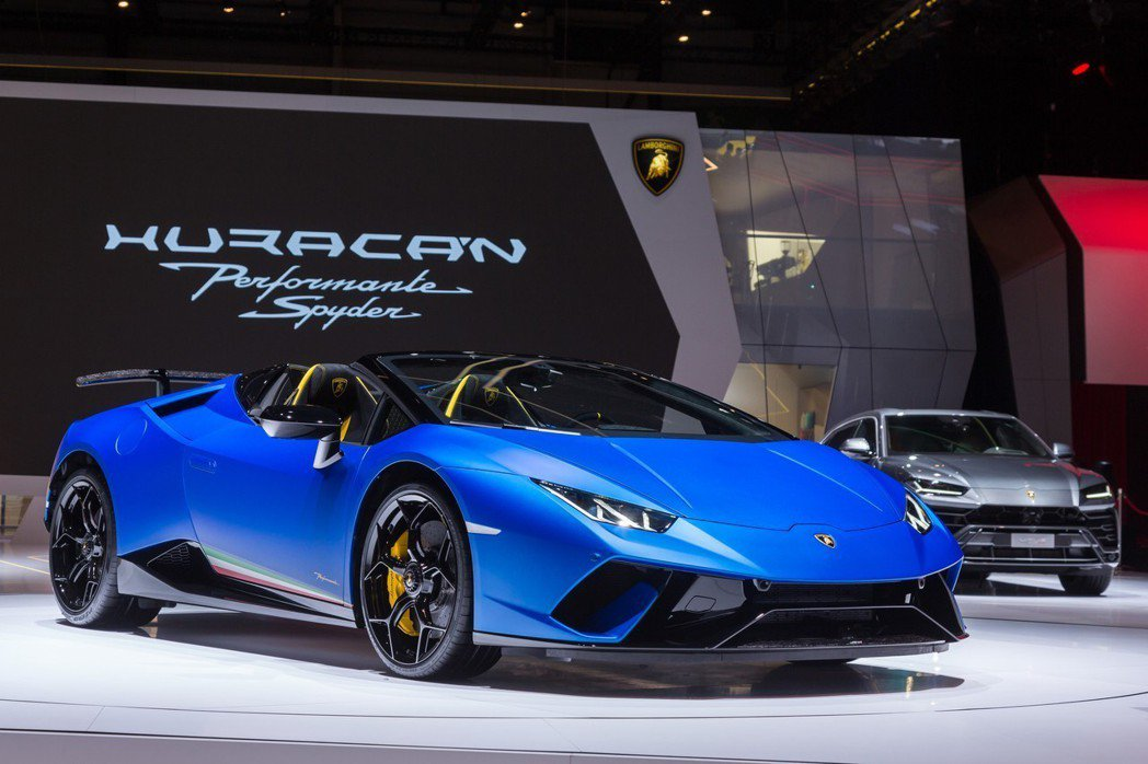 Lamborghini在去年的日內瓦車展上,發表了Huracán Perform...