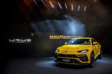Urus帶頭向前衝 Lamborghini年銷量大增51%達到歷史新高!