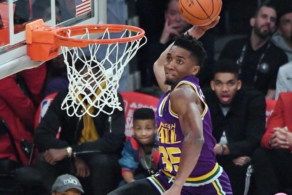 爵士米契爾表示將不會參加今年的灌籃大賽。 NBA