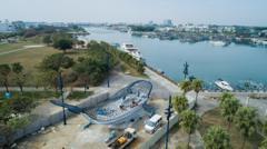春游景點多一處!台南安平新座標「大魚的祝福」1/21起正式開放
