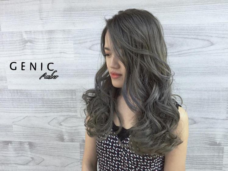 髮型創作/ Jhan Amber。圖/StyleMap提供
