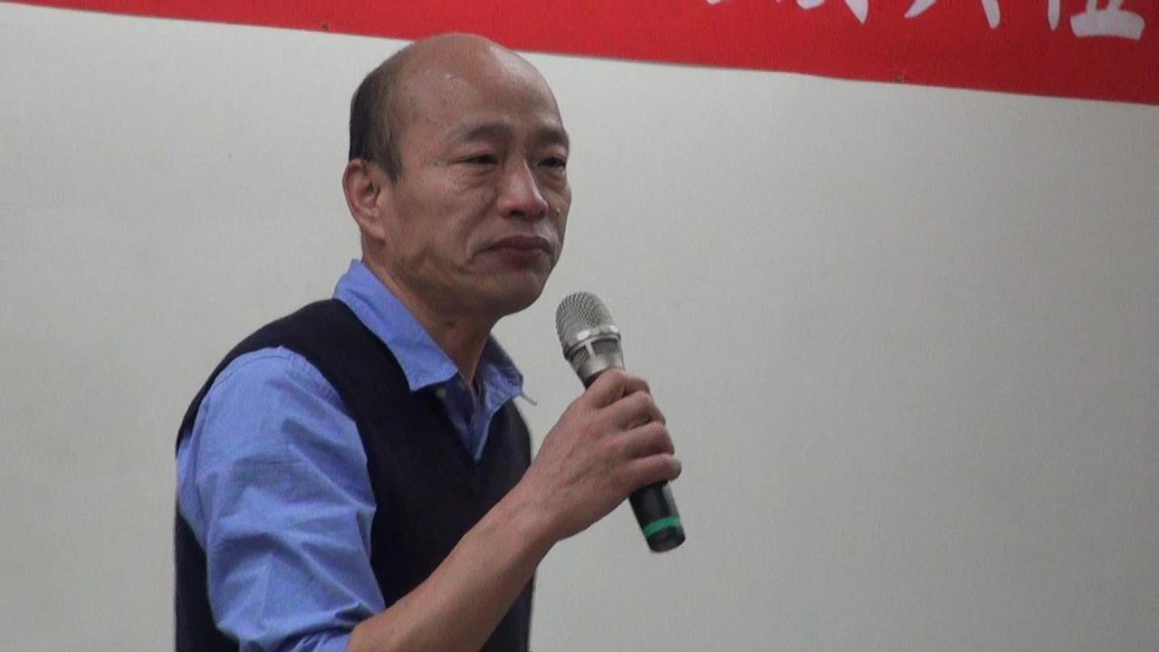 韓國瑜卸下主委回想15個月前 當吳敦義面流淚哽咽
