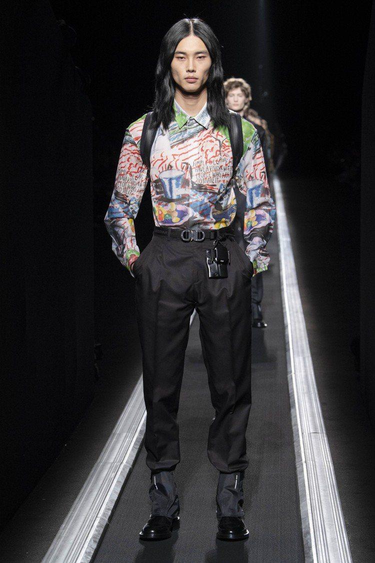 與美國龐克音樂很有淵源的Raymond Pettibon本季與Dior男裝合作。...