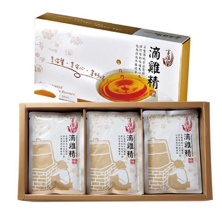 生活市集一月年節伴手禮熱銷第二名為享溫馨養生純滴雞精禮盒。圖/生活市集提供