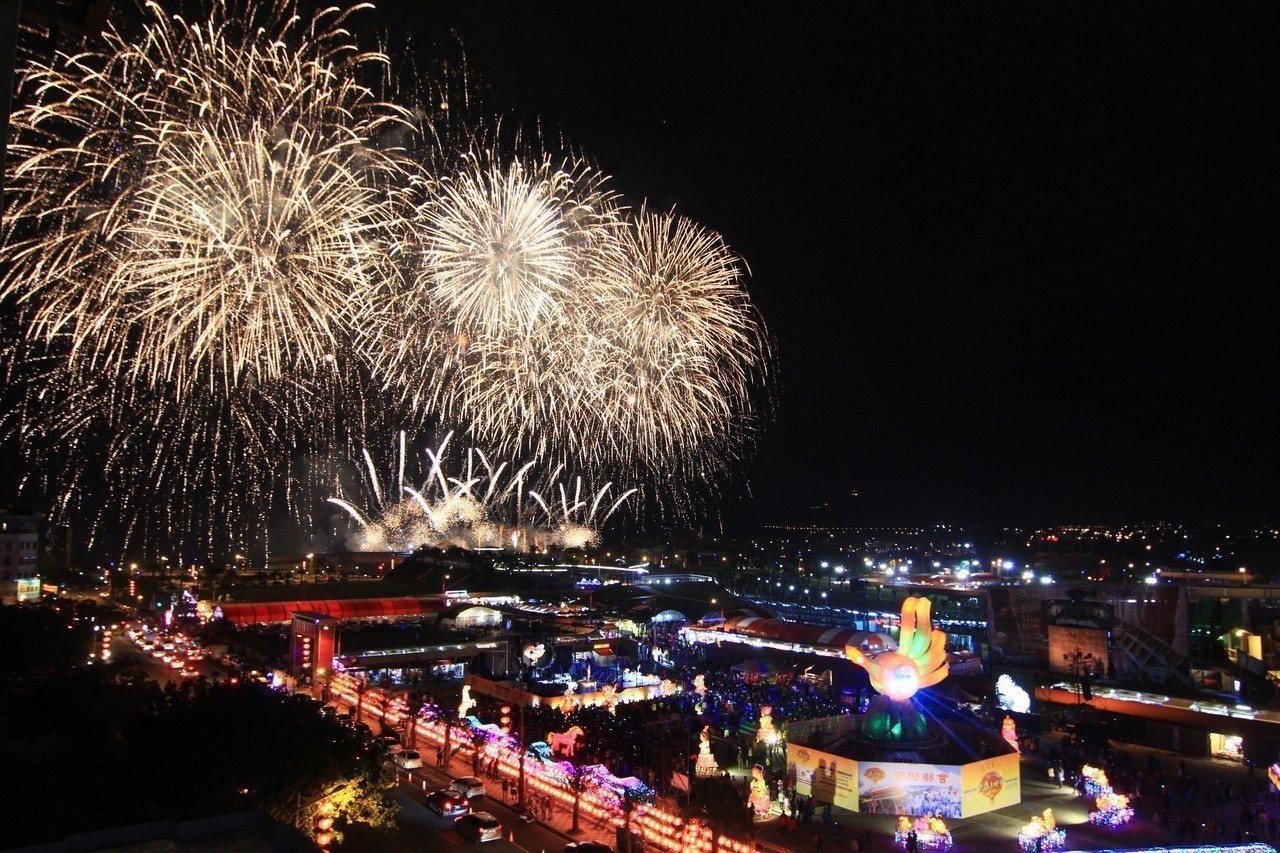 花蓮太平洋燈會邁入第7年,每年都吸引大批遊客。資料照片/縣府觀光處提供