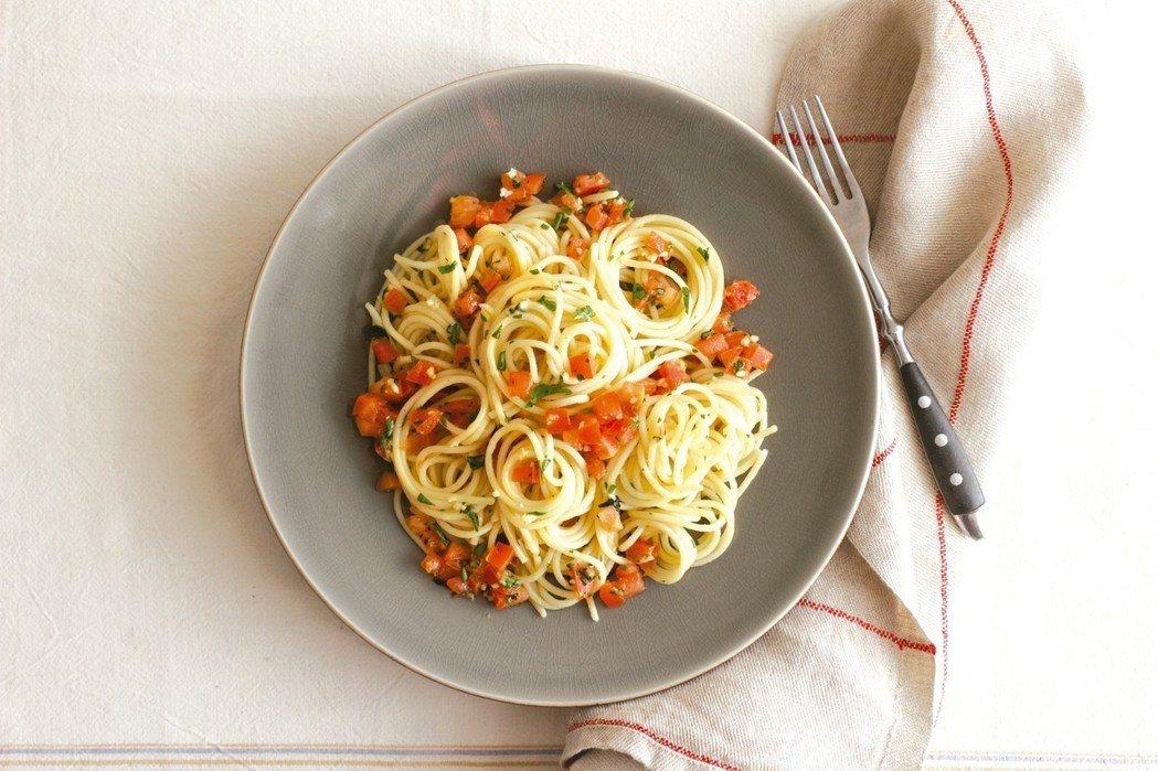 番茄義大利麵 圖/皇冠提供