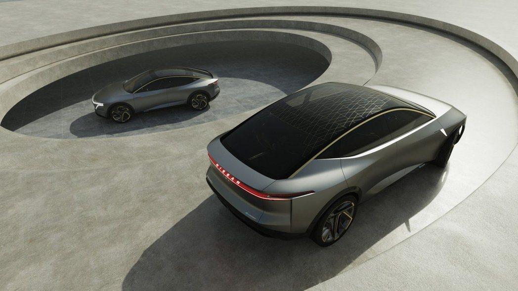Nissan IMs concept電動概念車。 摘自Nissan