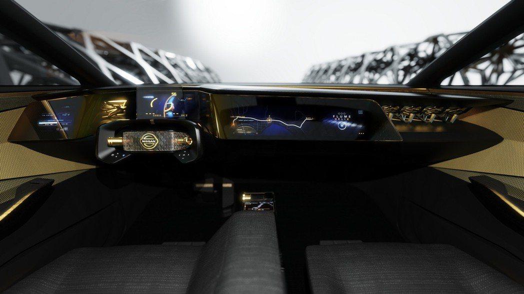 開闊的視野與三塊大屏幕的輔助,無論是手動或是自動駕駛,都能輕鬆上手。 摘自Nis...