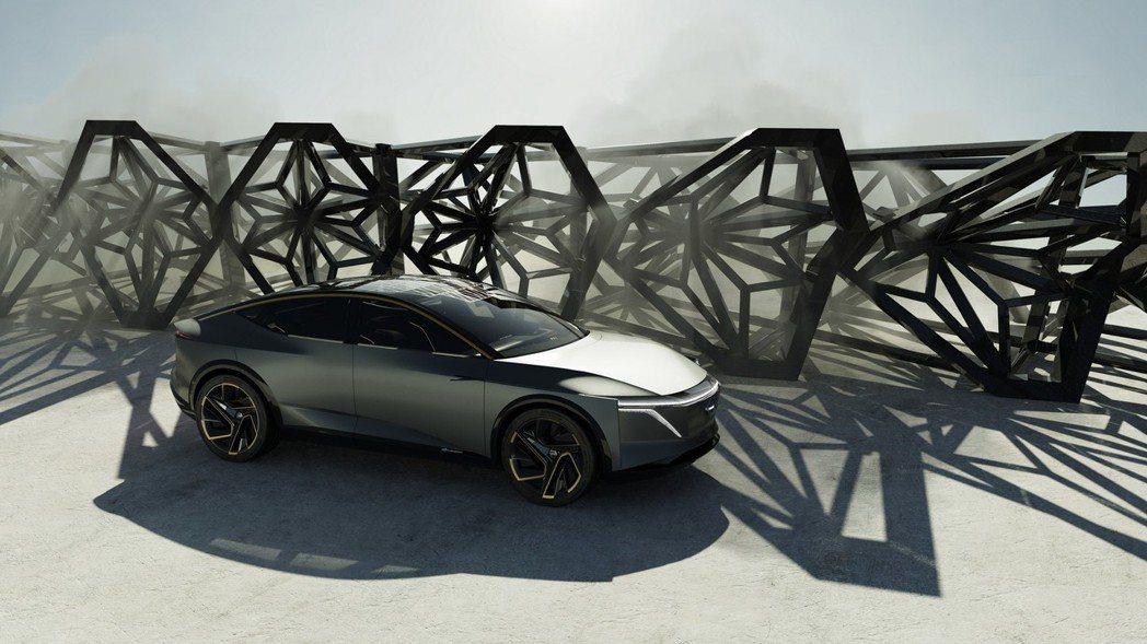 IMs concept單次充電最高行駛里程可達611公里。 摘自Nissan
