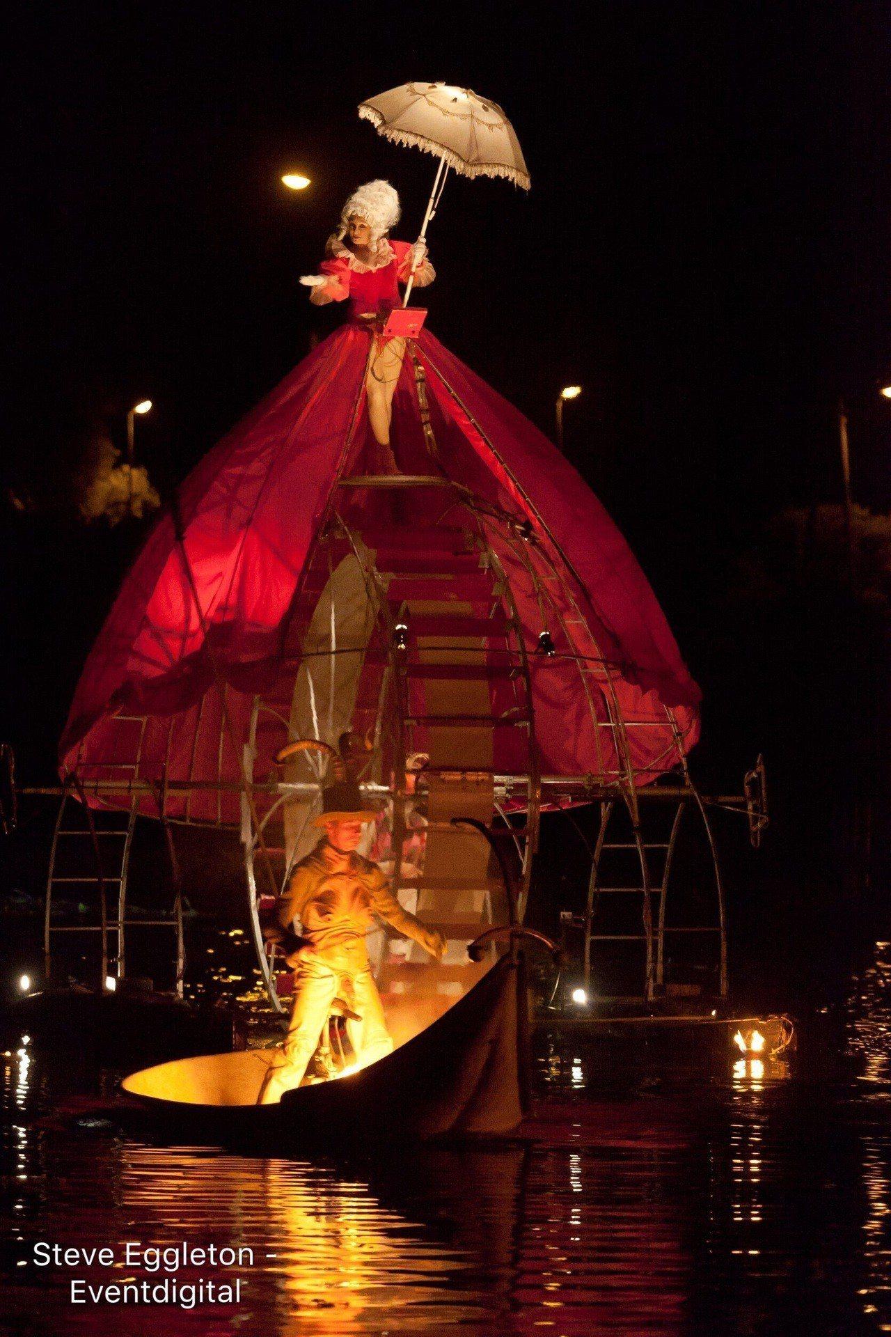 台灣燈會期間天天都有不同型態的主題表演,有國內及來自日、韓、西班牙、法國、印尼等...