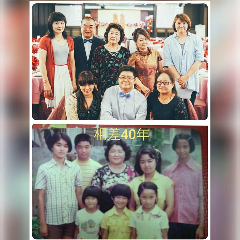10年算什麼,台灣港務股份有限公司行政副總經理高傳凱PO了一張40年前後對比照,...