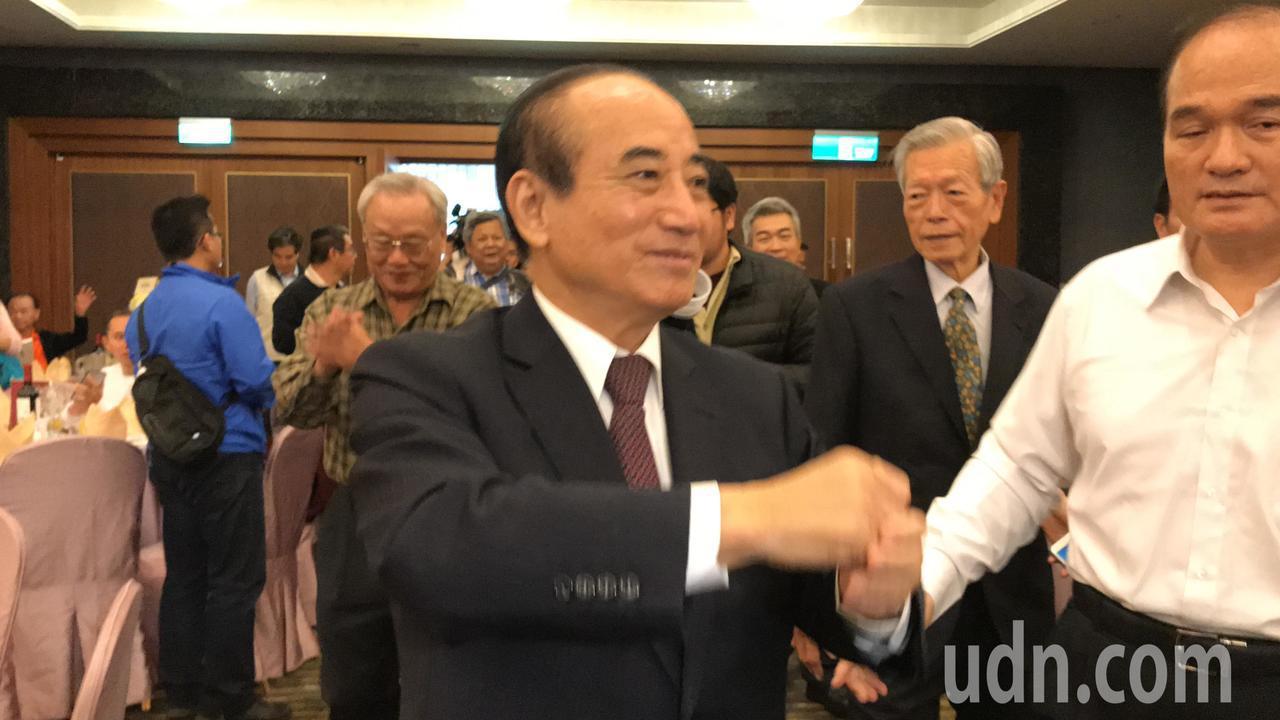 王金平認為現在台灣遇到的困難就是不「和」。記者綦守鈺/攝影