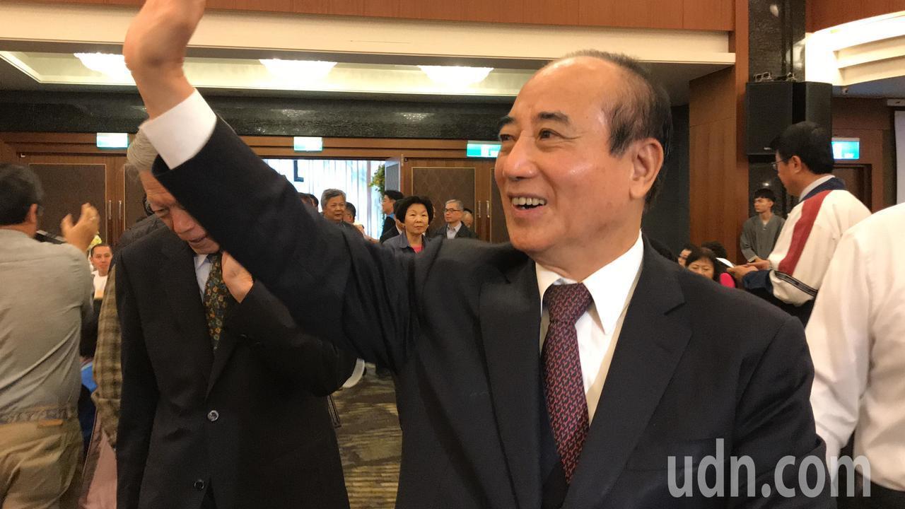 王金平:太陽花闖立院違法 但肯定勇於承擔