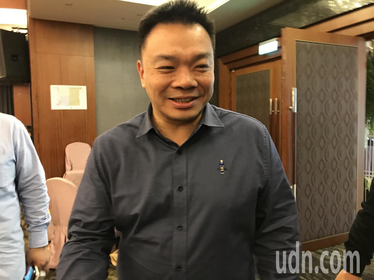 高思博出席王金平在台南午宴。記者綦守鈺/攝影