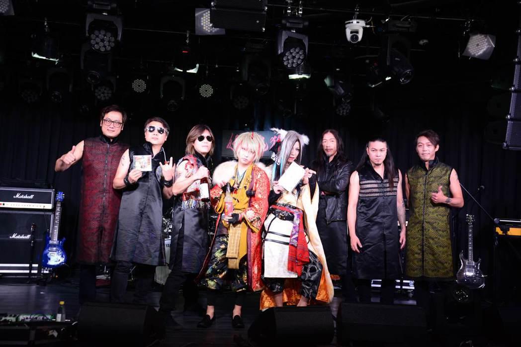 董事長樂團宣布將與日本樂團「妖之鬼狐」合作。圖/獨一無二娛樂提供