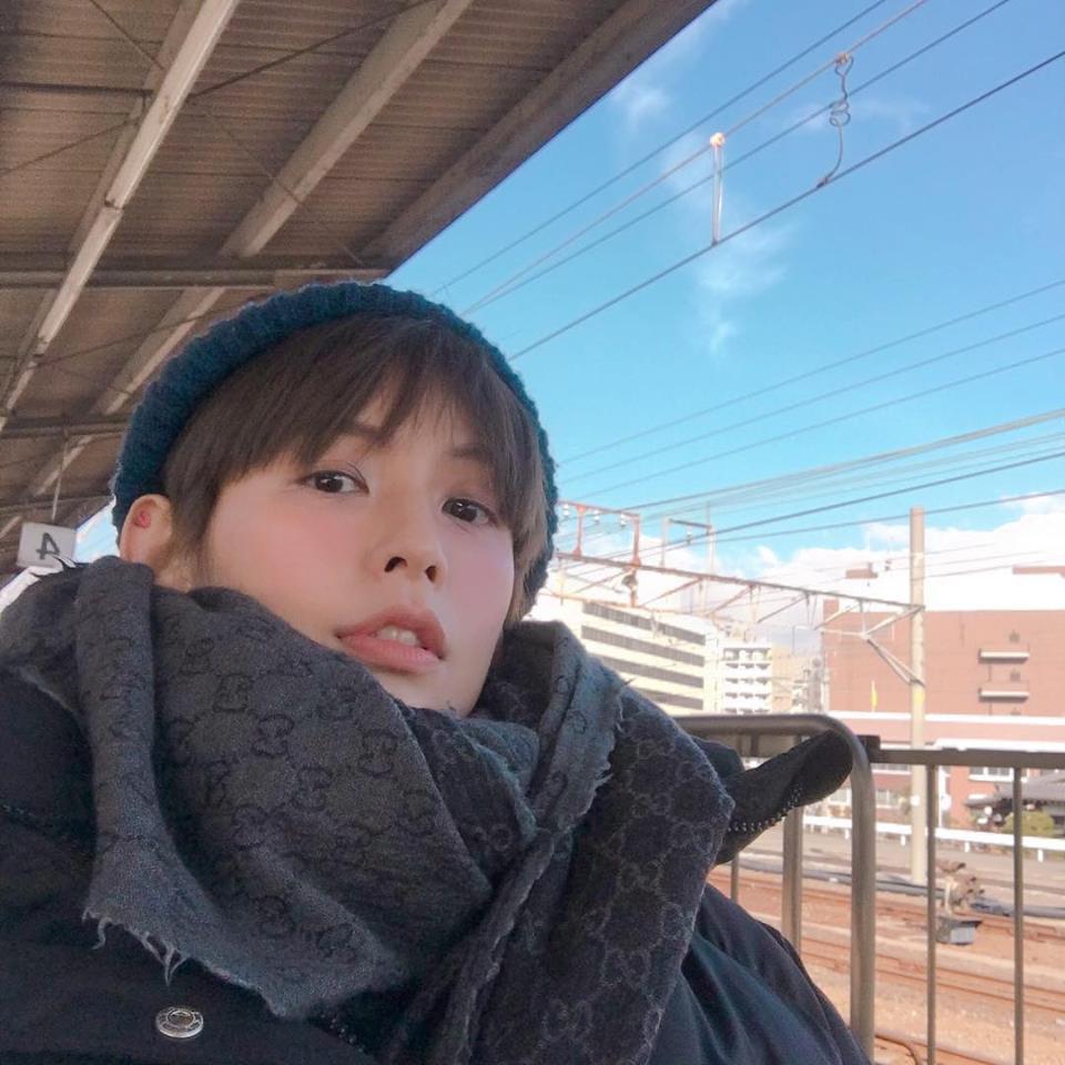 袁艾菲正在日本度假,喜自稱「準人妻」。圖/摘自臉書
