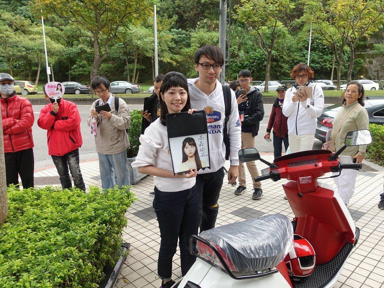 民進黨台北市議員高嘉瑜。圖/聯合報系資料照片