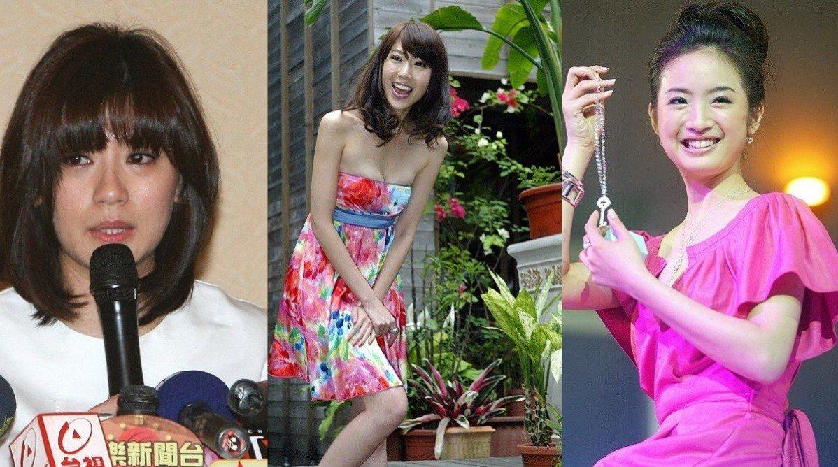2009年的賈靜雯(左起)、隋棠、林依晨各有人生與事業轉折,2019年的她們不但...
