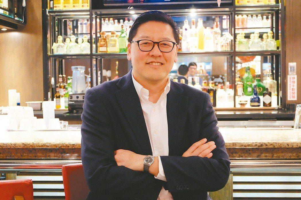 北軒餐飲集團台灣區資深營運副總裁李宏智 記者韓化宇/攝影