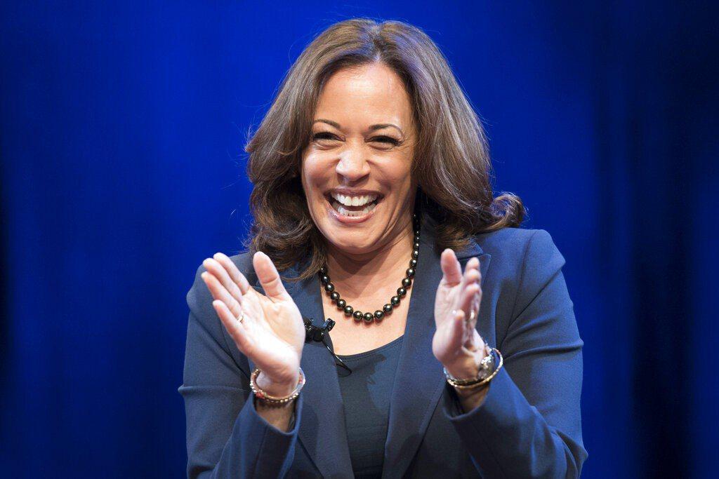 加州聯邦參議員賀錦麗,宣布啟動2020年角逐白宮大位競選活動。 美聯社