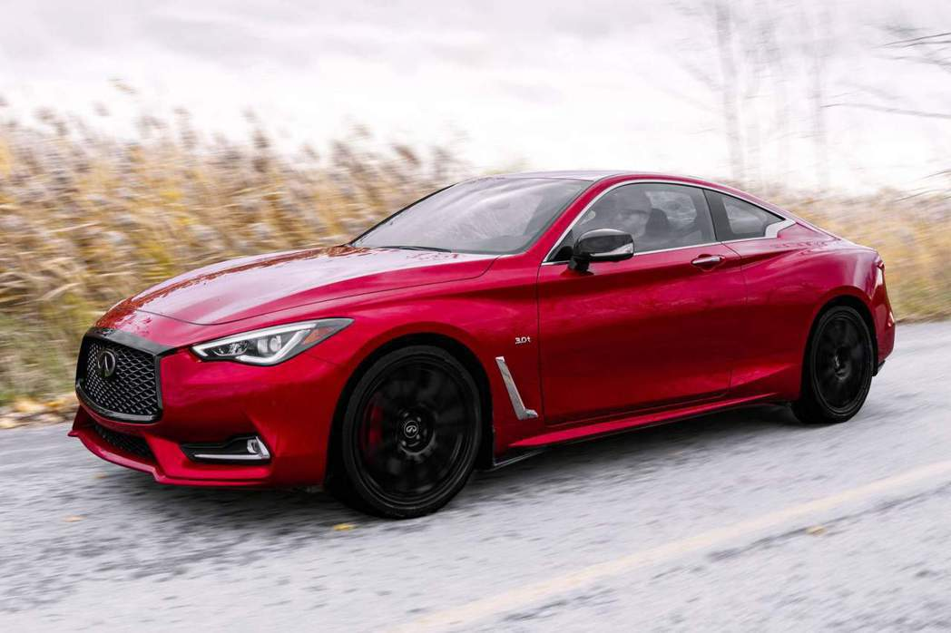 Q60 Red Sport I-Line搭載自家V6雙渦輪引擎。 摘自Infin...