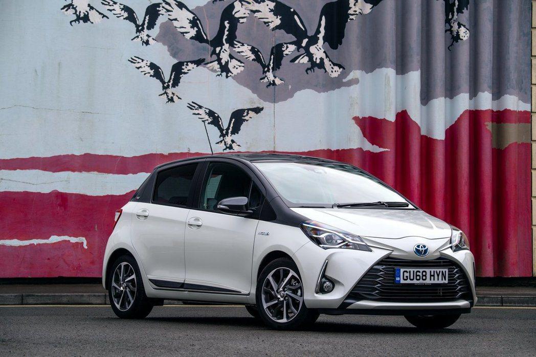 2019歐規Toyota Yaris。 摘自Toyota