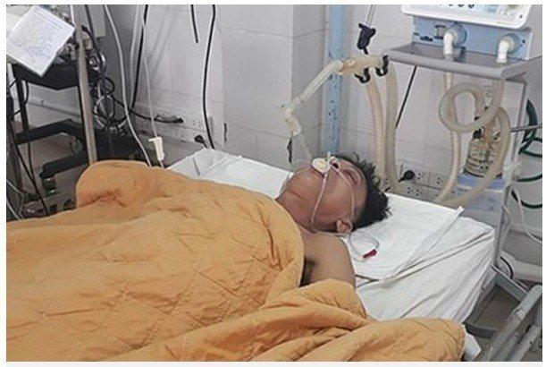 一名工業酒精中毒的越南男子,被醫生在一天內灌入15罐啤酒後,成功救回他的性命。圖...