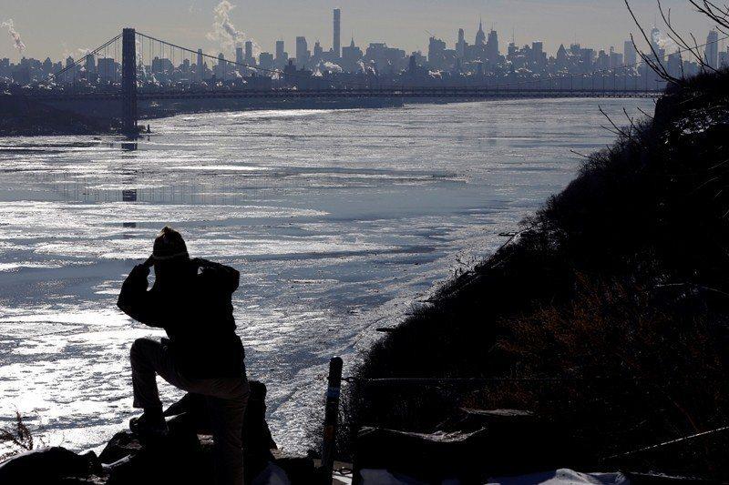美國紐約哈德遜河。 圖/路透社