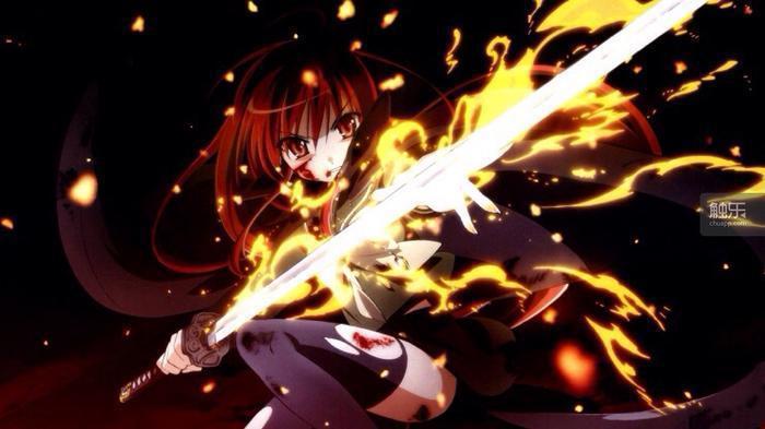 女孩子的血也一樣能夠燃燒,甚至更加華麗而熾烈。