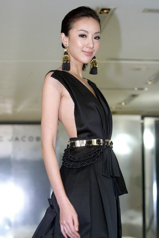 隋棠2009年為品牌走秀。圖/本報資料照