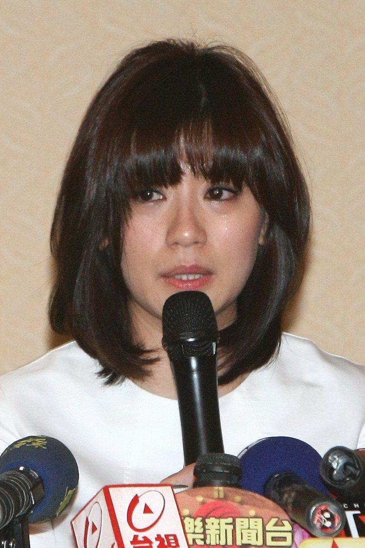 賈靜雯2009年正陷入離婚官司。圖/本報資料照