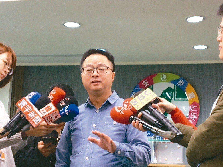 民進黨秘書長羅文嘉今接受廣播專訪。圖/報系資料照