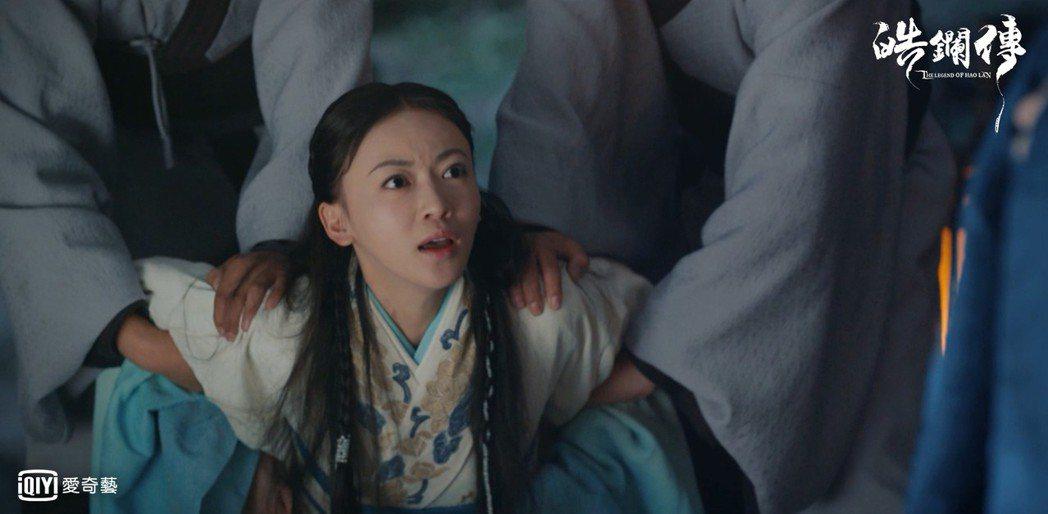 吳謹言飾演的「李皓鑭」與「魏瓔珞」一樣都是「硬骨頭」。圖/愛奇藝台灣站提供