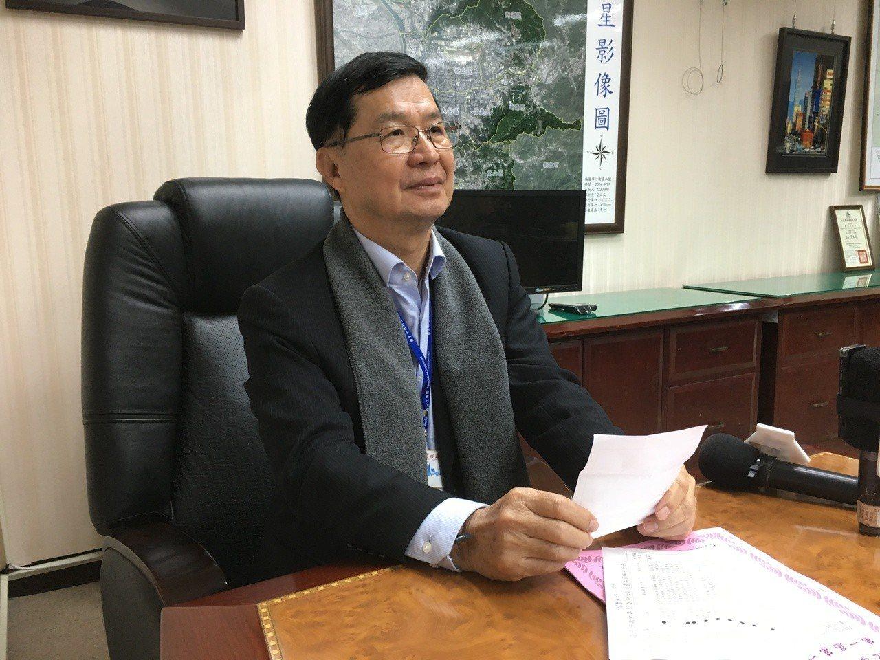 台北市副市長、北農董事長彭振聲。記者張世杰/攝影