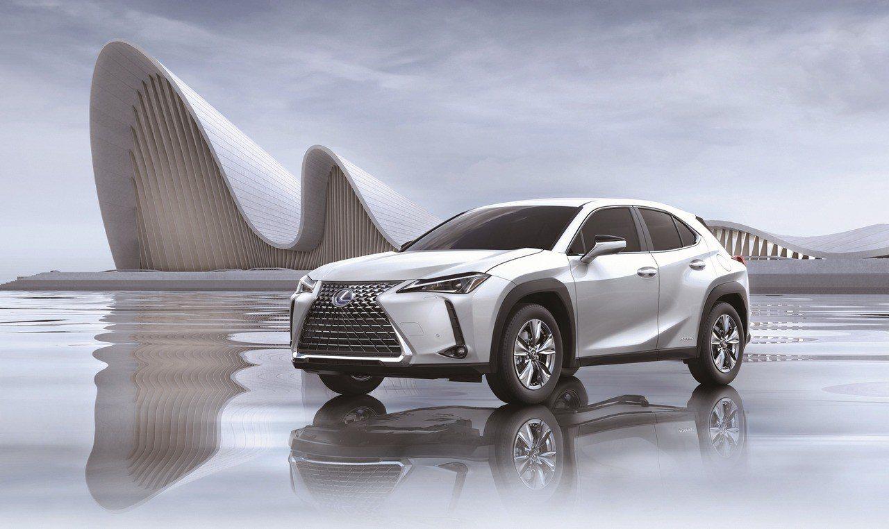Lexus的UX 250h全年銷售樂觀。圖/和泰車提供