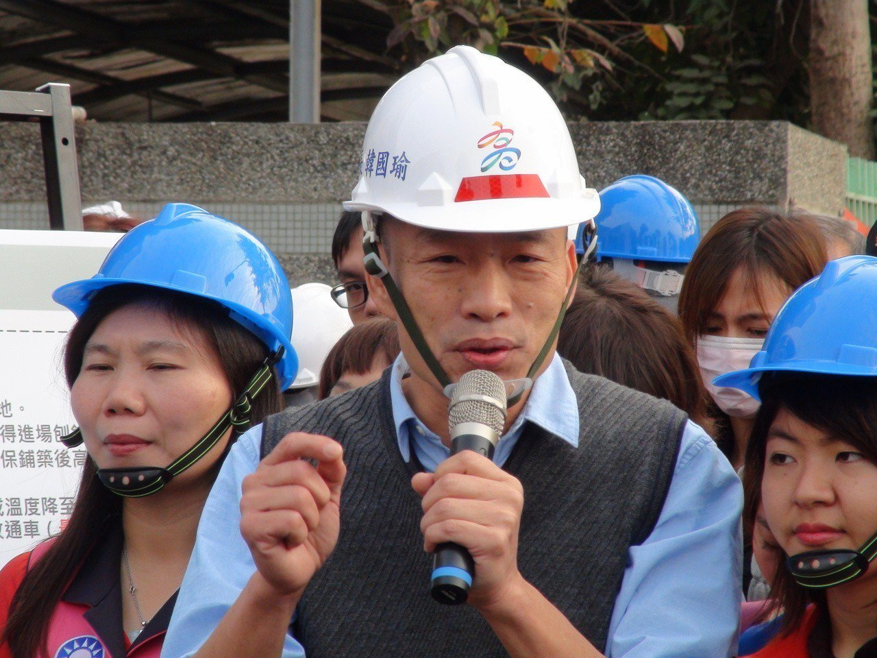 高雄市長韓國瑜說,可能會跟柯文哲會去日本旅遊玩,不會搭檔選總統。記者謝梅芬/攝影