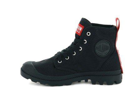 Palladium Pampa Hi Dare系列經典黑靴,2,280元。圖/P...