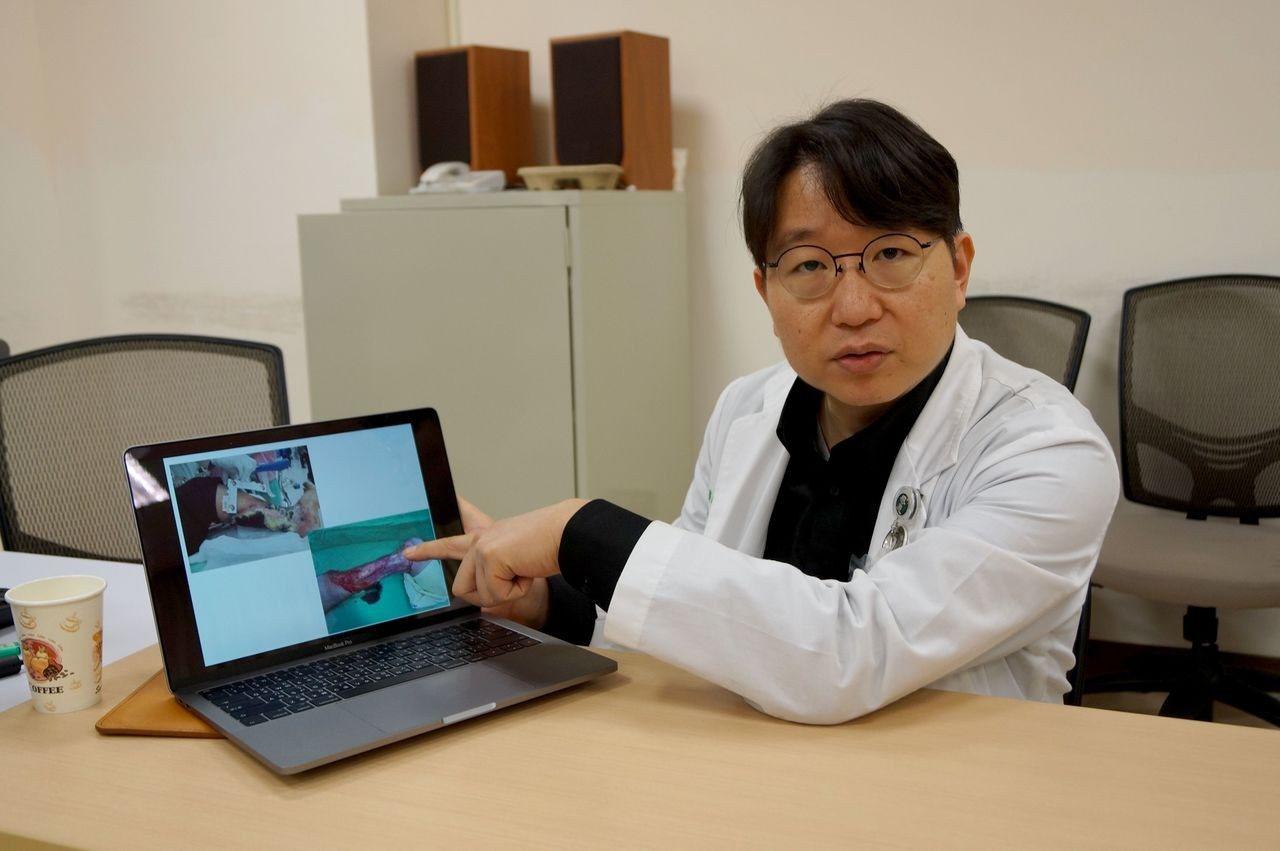 安南醫院足部傷口中心、心臟血管外科主任陳偉華。圖/安南醫院提供