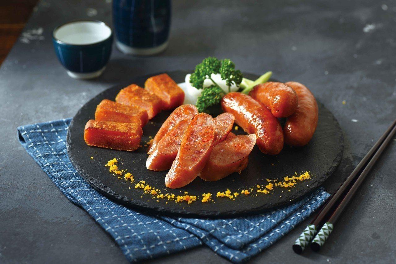 黑橋牌觀察到近年來消費者對創新風味香腸接受度高,因此推出如烏魚子香腸,滿足消費者...